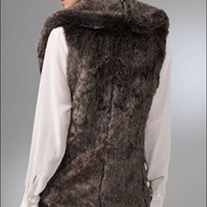 Club Monaco Jackets & Coats - Club Monaco Gia Faux Fur Vest